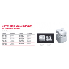 Barron Radial Non-Vacuume Punch 9.5mm Sterile