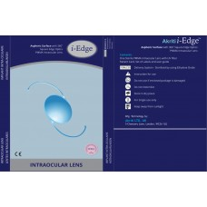 i-Edge Aspheric Surface with with 360* Square Edge Optics PMMA  Yellow Intra Ocular Lens