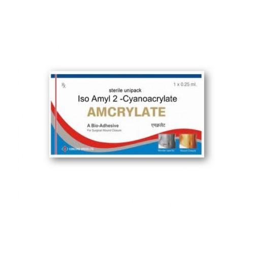 Tissue Adhesive AMCRYLATE Iso Amyl 2-Cyanoacrylate 0 25ml, Sterile